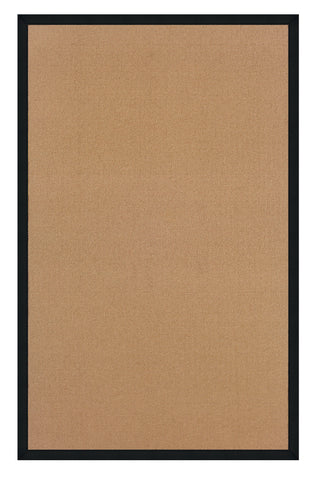 Linon Athena RUG-AT0301 Cork/Black Area Rug main image