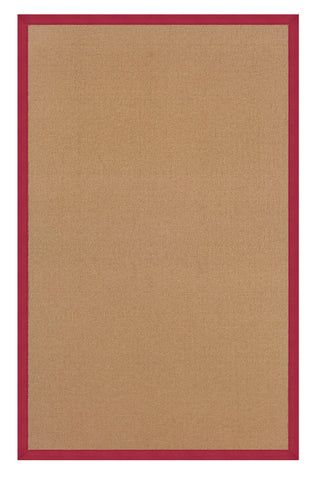 Linon Athena RUG-AT0303 Cork/Red Area Rug main image