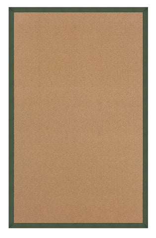 Linon Athena RUG-AT0305 Cork/Green Area Rug main image
