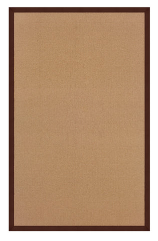 Linon Athena RUG-AT0306 Cork/Brown Area Rug main image
