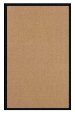 Linon Athena RUG-AT0321 Cork/Black Area Rug main image