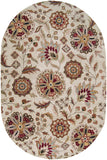 Surya Athena ATH-5035 Chocolate Area Rug 6' x 9' Oval