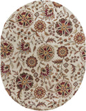 Surya Athena ATH-5035 Chocolate Area Rug 8' x 10' Oval