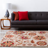 Surya Athena ATH-5035 Chocolate Hand Tufted Area Rug Roomscene