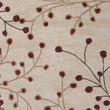Surya Athena ATH-5053 Burgundy Hand Tufted Area Rug Sample Swatch