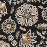 Surya Athena ATH-5061 Black Hand Tufted Area Rug Sample Swatch