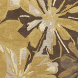 Surya Athena ATH-5115 Gold Hand Tufted Area Rug Sample Swatch
