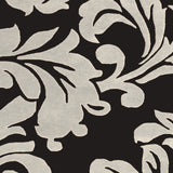 Surya Athena ATH-5131 Black Hand Tufted Area Rug Sample Swatch
