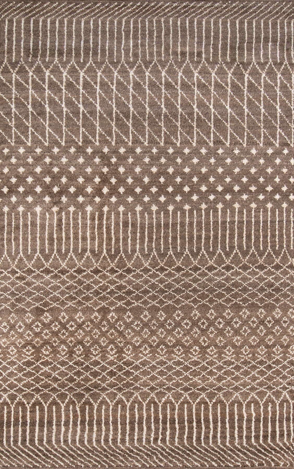 Momeni Atlas ATL-6 Brown Area Rug main image