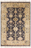Surya Antique ATQ-1007 Black Area Rug 2' X 3'