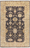 Surya Antique ATQ-1007 Black Area Rug 5'6'' x 8'6''