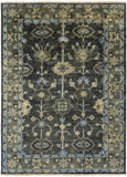 Surya Antique ATQ-1008 Moss Hand Knotted Area Rug 8' X 11'