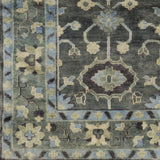 Surya Antique ATQ-1008 Moss Hand Knotted Area Rug Sample Swatch