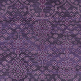 Surya Antique ATQ-1013 Dark Purple Hand Knotted Area Rug Sample Swatch