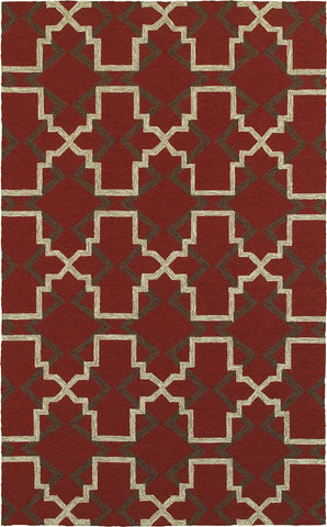 Tommy Bahama Atrium 51103 Red Area Rug main image