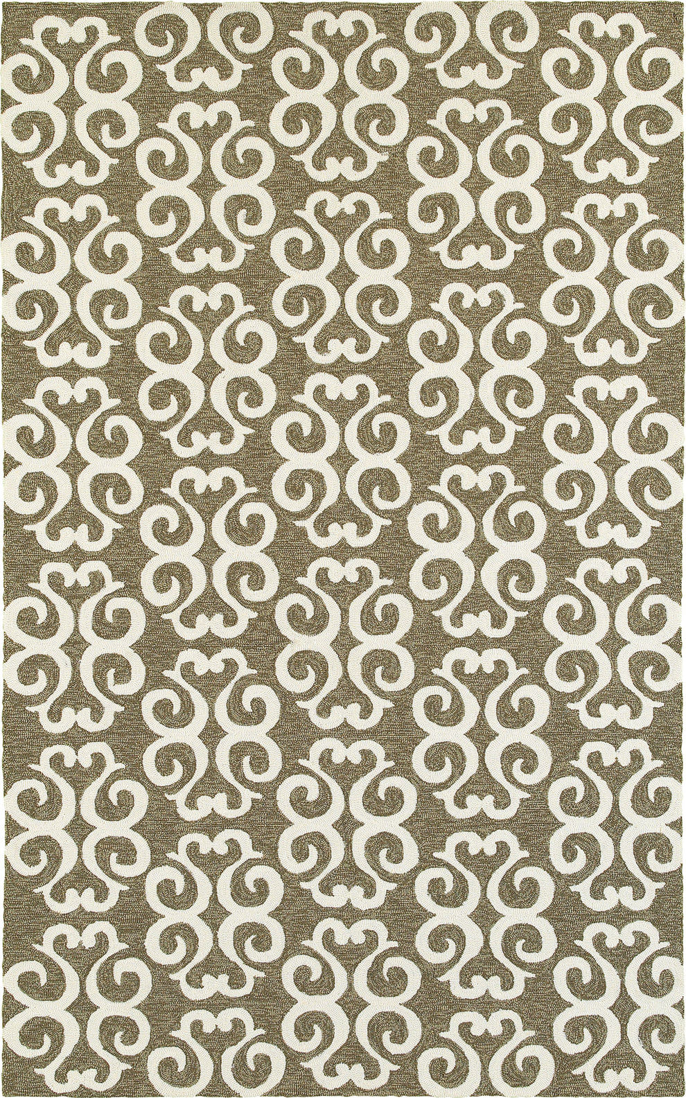 Tommy Bahama Atrium 51108 Brown Area Rug main image