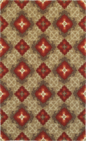 Tommy Bahama Atrium 51109 Brown Area Rug main image
