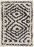 Surya Atlas ATS-1001 Charcoal Area Rug by Beth Lacefield 2' x 3'