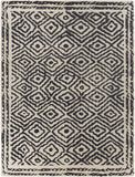 Surya Atlas ATS-1001 Charcoal Area Rug by Beth Lacefield 8' x 11'