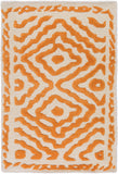 Surya Atlas ATS-1003 Burnt Orange Area Rug by Beth Lacefield 2' X 3'