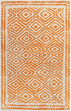 Surya Atlas ATS-1003 Burnt Orange Area Rug by Beth Lacefield 5' x 8'