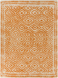 Surya Atlas ATS-1003 Burnt Orange Area Rug by Beth Lacefield 8' X 11'
