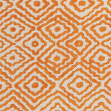 Surya Atlas ATS-1003 Burnt Orange Hand Knotted Area Rug by Beth Lacefield Sample Swatch