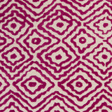 Surya Atlas ATS-1005 Magenta Hand Knotted Area Rug by Beth Lacefield Sample Swatch
