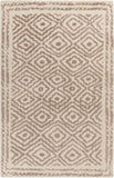 Surya Atlas ATS-1006 Taupe Area Rug by Beth Lacefield 5' x 8'