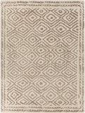 Surya Atlas ATS-1006 Taupe Area Rug by Beth Lacefield 8' x 11'