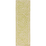 Surya Atlas ATS-1008 Lime Area Rug by Beth Lacefield 2'6'' x 8' Runner