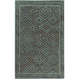Surya Atlas ATS-1013 Teal Area Rug by Beth Lacefield 5' x 8'