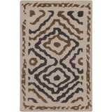 Surya Atlas ATS-1016 Taupe Area Rug by Beth Lacefield 2' x 3'