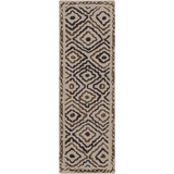 Surya Atlas ATS-1016 Taupe Area Rug by Beth Lacefield 2'6'' x 8' Runner