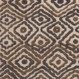 Surya Atlas ATS-1016 Taupe Hand Knotted Area Rug by Beth Lacefield Sample Swatch