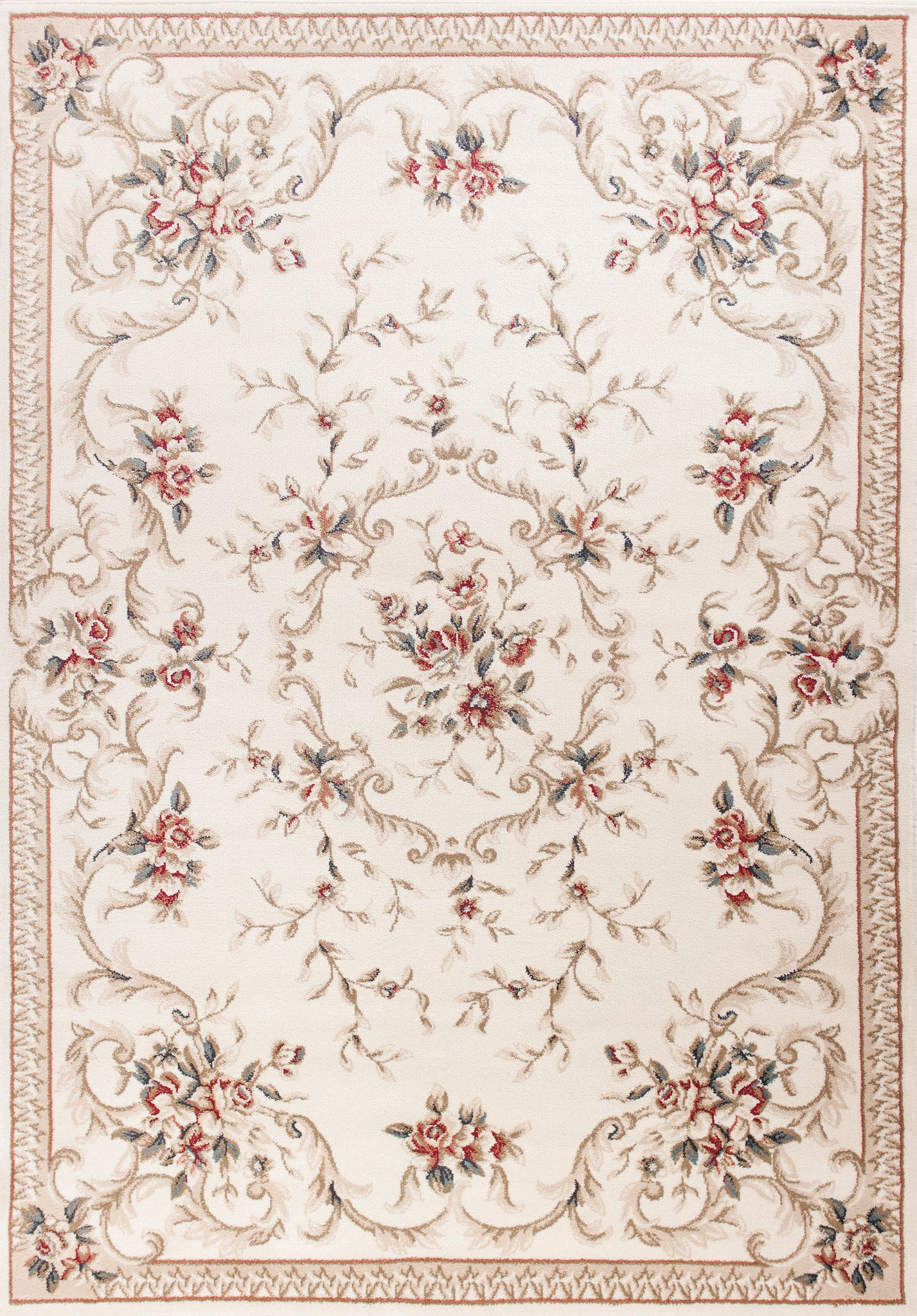 KAS Avalon 5606 Ivory Aubusson Area Rug main image