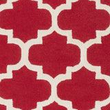 Artistic Weavers Pollack Stella Crimson Red/Ivory Area Rug Swatch