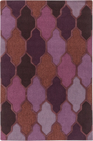 Artistic Weavers Pollack Morgan Purple Multi Area Rug main image