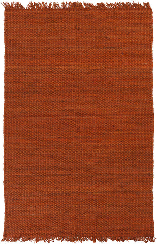 Artistic Weavers Tropica Harper Dark Orange Area Rug main image