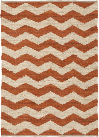 Artistic Weavers Portico Sadie Dark Orange/Beige Area Rug main image