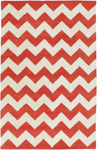 Artistic Weavers Transit Penelope Bright Orange/Ivory Area Rug main image