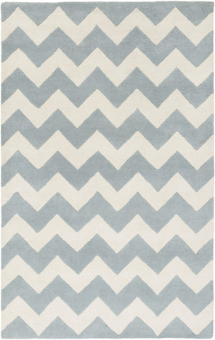 Artistic Weavers Transit Penelope Light Blue/Ivory Area Rug main image