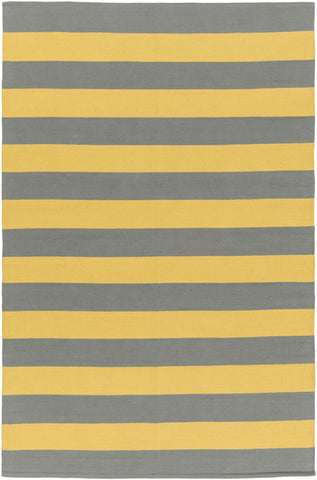 Artistic Weavers City Park Lauren Bright Yellow/Gray Area Rug main image