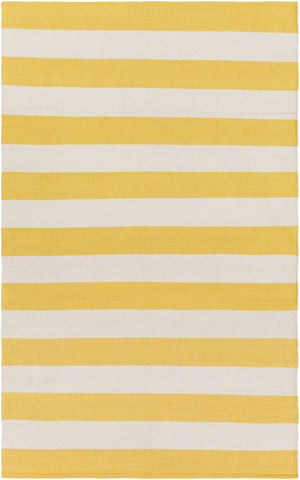 Artistic Weavers City Park Lauren Bright Yellow/Ivory Area Rug main image