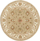 Artistic Weavers Oxford Isabelle Sage Green/Terra Cotta Area Rug Round