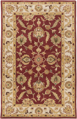 Artistic Weavers Oxford Isabelle Burgundy/Gold Area Rug main image