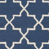 Artistic Weavers Pollack Keely Navy Blue/Ivory Area Rug Swatch