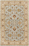 Artistic Weavers Middleton Charlotte Light Blue/Chocolate Brown Area Rug main image