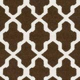 Artistic Weavers York Olivia Brown/Ivory Area Rug Swatch