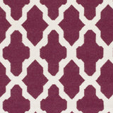 Artistic Weavers York Olivia Purple/Ivory Area Rug Swatch